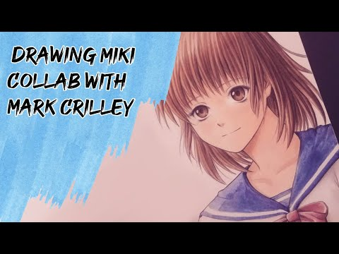 Drawing Miki (Collaboration with Mark Crilley!!!!)