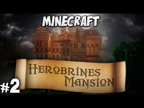 Herobrine's Mansion Part 2 - Crypt and Ground Floor