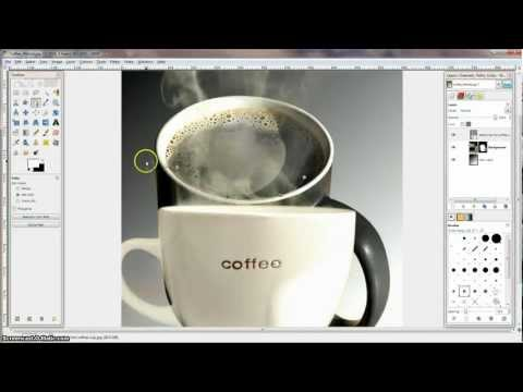 GIMP tutorial - Paths, Layers and Layer Masks for cutting out images from backgrounds