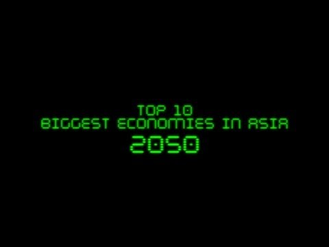 FUTURE: Biggest Economies in Asia in 2050