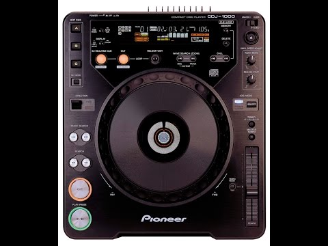 Original Pioneer CDJ 1000 Video Manual CDJ1000Mk1 DJ Turntable