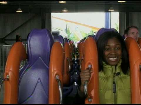 World's Longest Floorless Roller Coaster