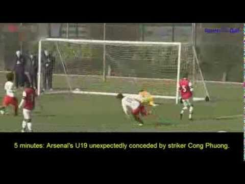 Shock: U19 Viet Nam vs U19 Arsenal (3-0)