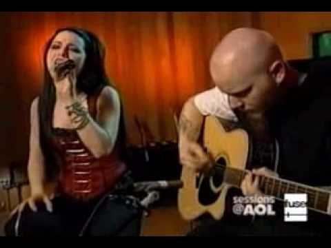 Evanescence - bring me to life acoustic live aol