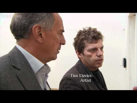Tim Davies at Oriel Mostyn Gallery - Framing Wales: Art in the 20th Century Episode 4 - BBC Two