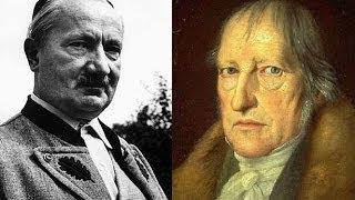 Бытие у Хайдеггера и Гегеля