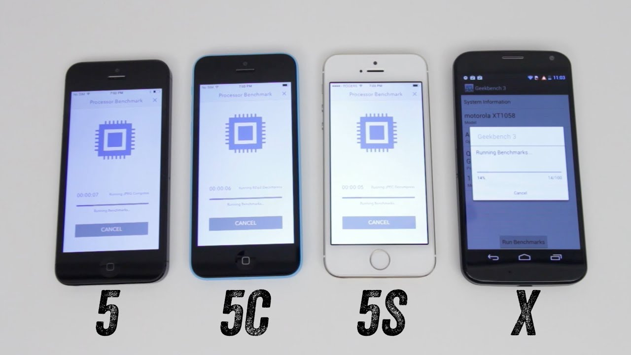 Iphone 5 vs iphone 5s vs iphone 5c