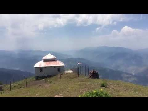 Paragliding at Pir Chanasi Muzafarabad Azad Kashmir. 12 June 2014