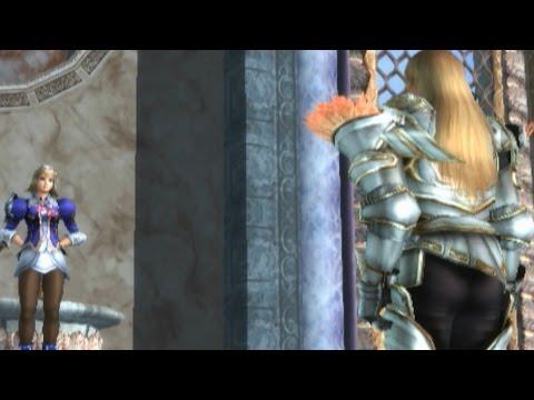 Soul Calibur III - Siegfried as Sophitia in Cassandra's Ending