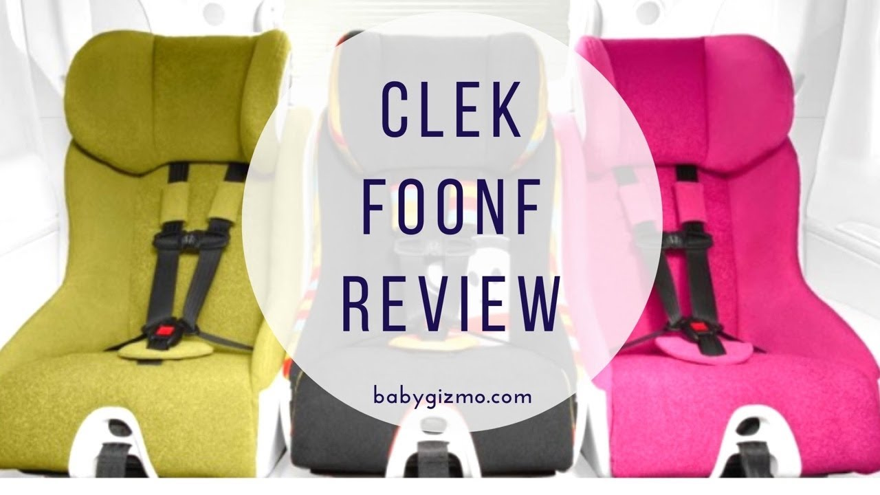 Clek Foonf Convertible Car Seat Review Baby Gizmo Youtube