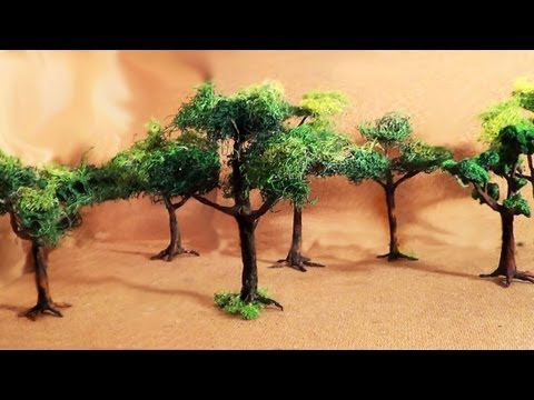 Miniatura (parte 2) Árvores - Miniature (part 2) Trees