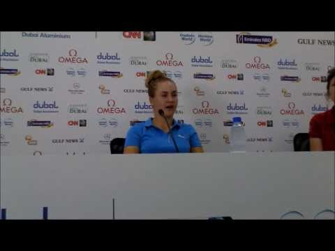 Charley Hull on her first visit to Dubai and playing the Majlis Course at Emirates Golf Club