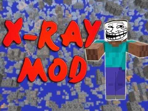 Minecraft Xray Mod 1.4.2