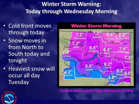 NE Montana Winter Storm Dec. 2-3 2013
