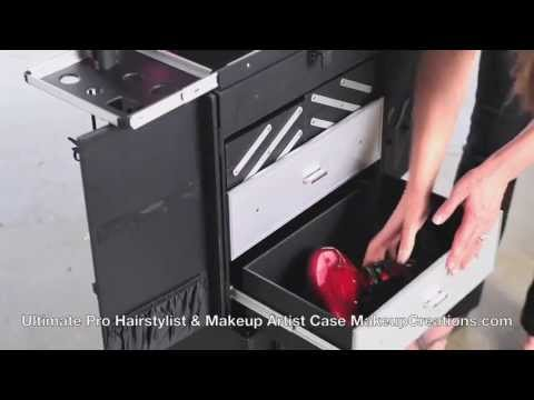 Hairstylist Case - Ultimate Pro Hairstylist and Makeup Artist Case