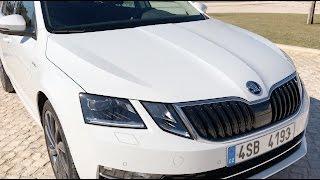 Обзор и тест-драйв обновленной Skoda Octavia 2017 (A7 FL). АвтоВести выпуск Online. Видео Авто Вести Россия 24.