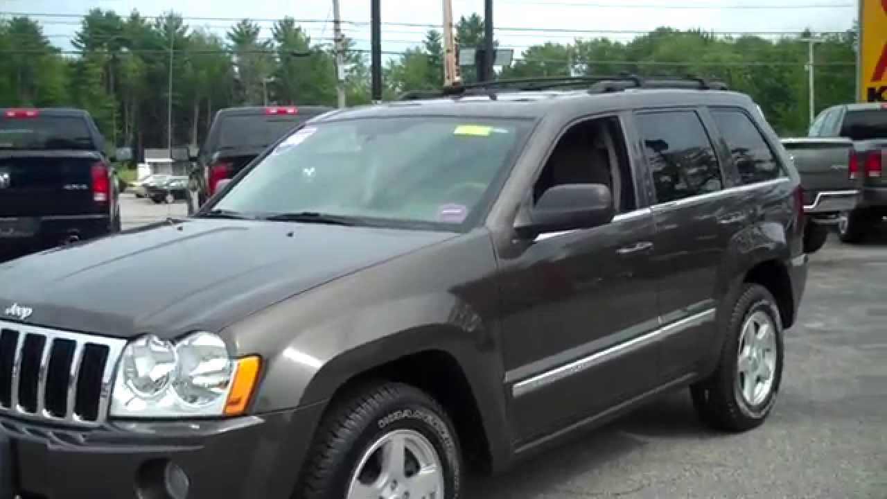 2006 jeep grand cherokee limited stk t6804a southern for Southern maine motors saco maine