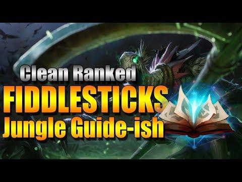 Clean Fiddlesticks Jungle Guide-ish | Fiddlesticks Spellbook Jungle (League of Legends)