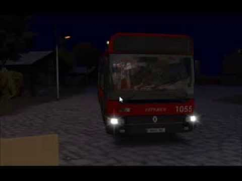 OMSI Bus simulator - Renault CityBus Tuzsa - Grundorf