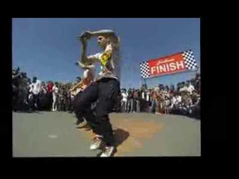 KHOY BBOYS (Iranian Hip Hop & Break Dance) in Khoy Rally Racing - 2013 (خوی بی بویز-هیپ هاپ و بریک )