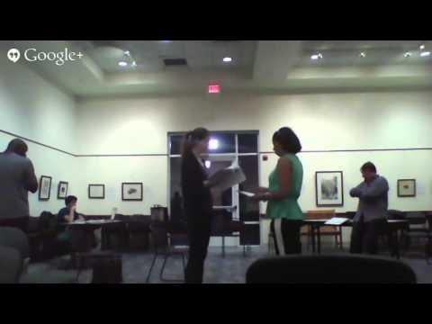 RUR First Blocking Rehearsal