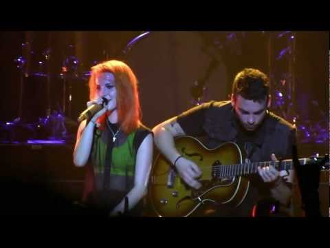 """Paramore in Pomona- """"In the Mourning""""/ """"Landslide"""" (720p HD) Live on August 14th,  2012, Recorded at Paramore's long-awaited return to the stage at the Fox Theater in Pomona, California on Tuesday, August 14th, 2012."""