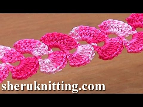 Lace Crochet Two-Side Cord Tutorial 8