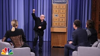 Charades with Danny DeVito, Khloé Kardashian and Norman Reedus