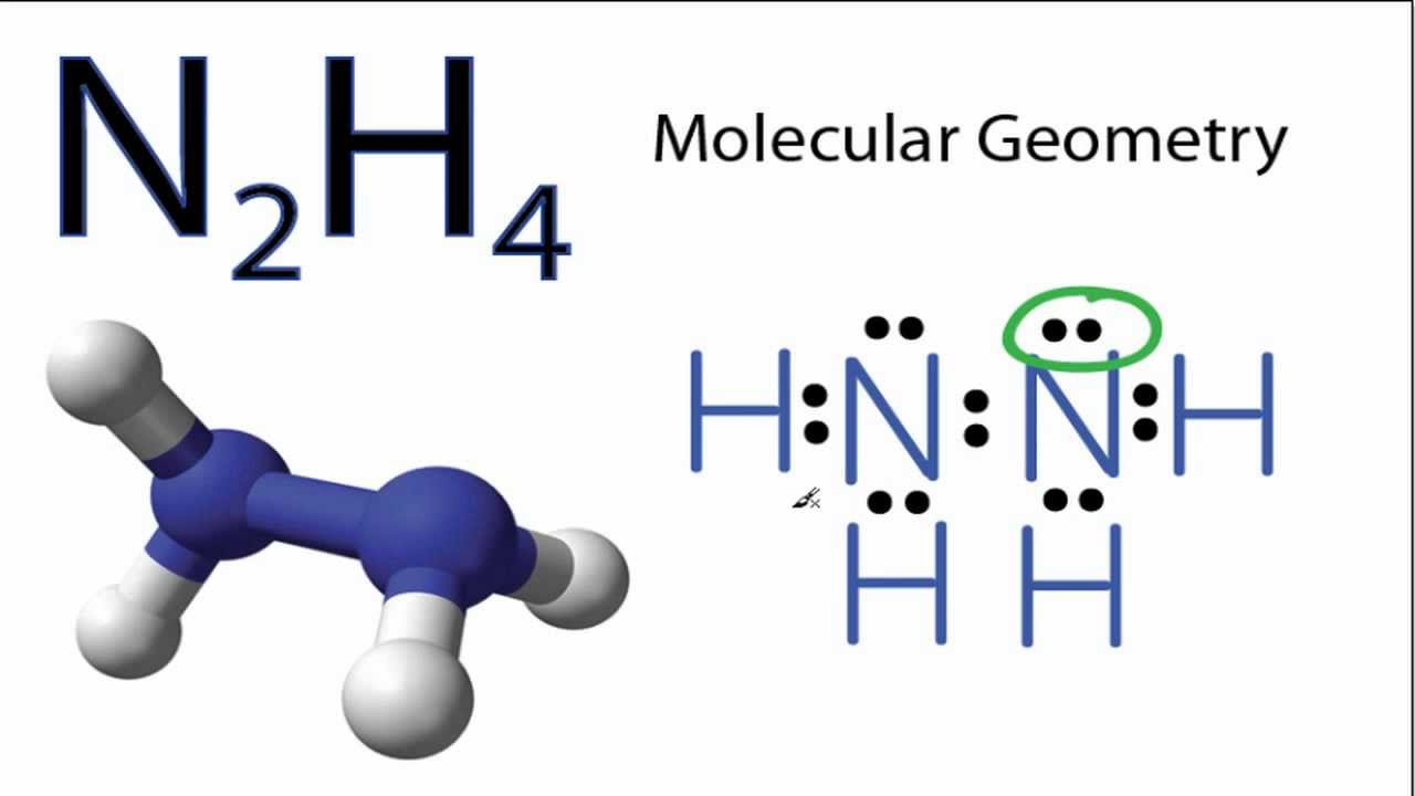N2H4 Molecular Geometry and Bond - 40.3KB