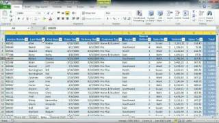 Total Training Microsoft Excel 2010: Essentials Ch 1