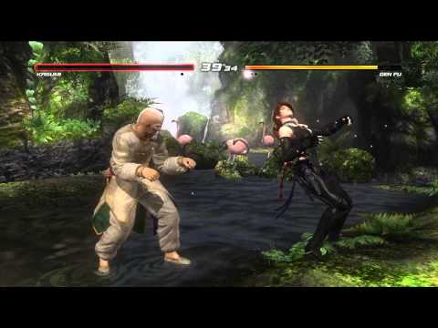 DOA5U Official Tournament National Final とも(Kasumi)- シオロジカ(Gen Fu)Top 16 Team NINJA