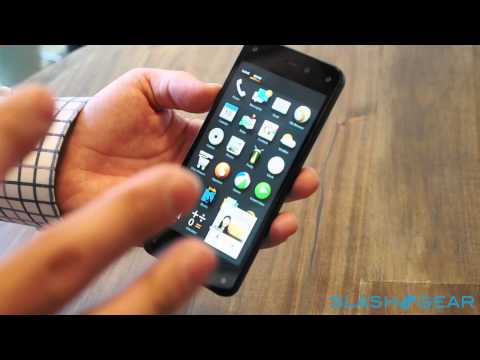 Amazon Fire Phone Mayday service demo