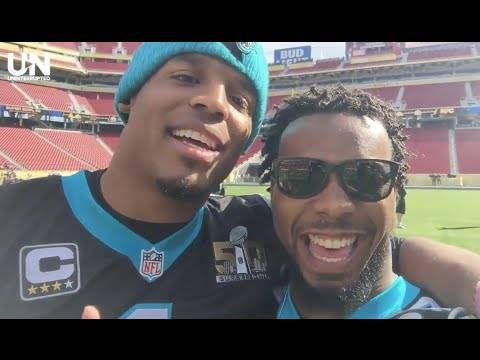 Josh Norman and Cam Newton on the Eve of Super Bowl 50