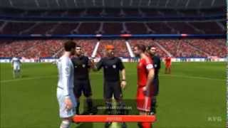 FIFA 14 FC Bayern Munich Vs. Real Madrid Gameplay [HD
