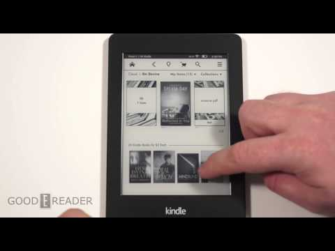 Kindle Paperwhite new e reader launch on 2014