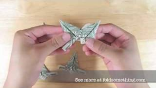 How To Make An Origami Modular Dollar Star 5 Or 6 Points
