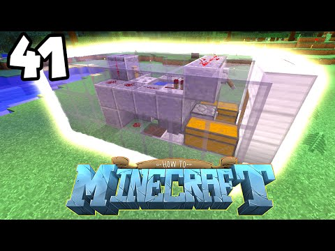 How to Minecraft: AFK FISHING FARM! (41) - w/ Preston (Minecraft 1.8 SMP)