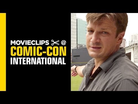 Comic-Con: Nathan Fillion Interview (2013) - with Alison Haislip HD