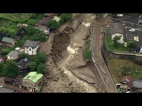 Three dead as storm hits landfall in Japan