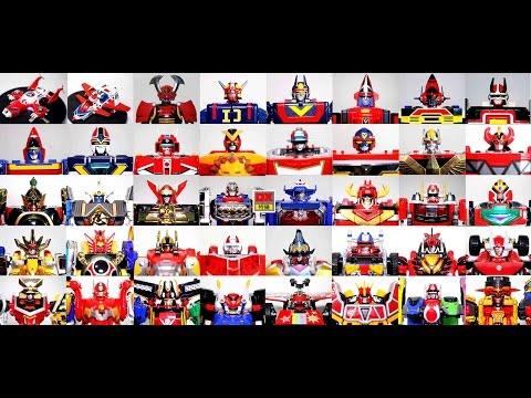 Super Sentai DX Mechas Goranger- Ninninger (1975-2015) スーパー戦隊 メカ ゴレンジャー-ニンニンジャー バリブルーン- シュリケンジン