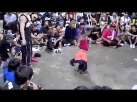 hip hop Cậu bé 8 tuổi nhảy breakdance 'cực siêu'
