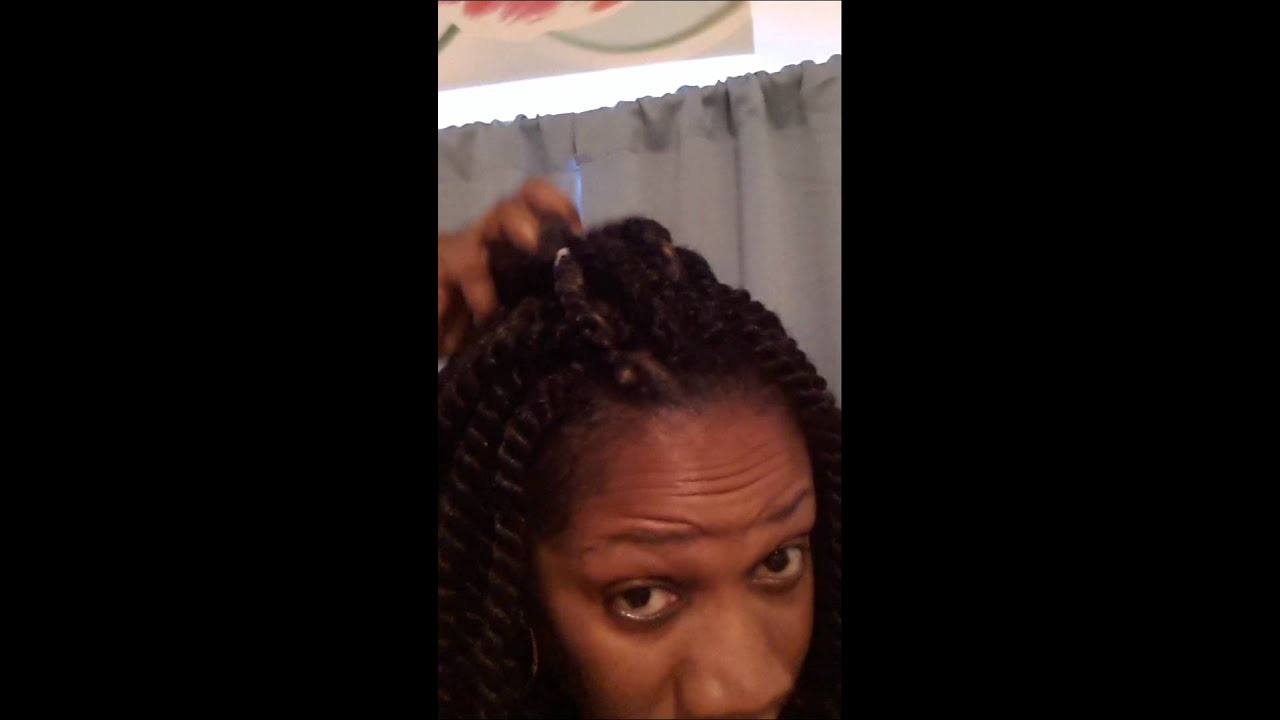 ... Crochet Braids Hair Weave also Black Men Afro With Ponytail and