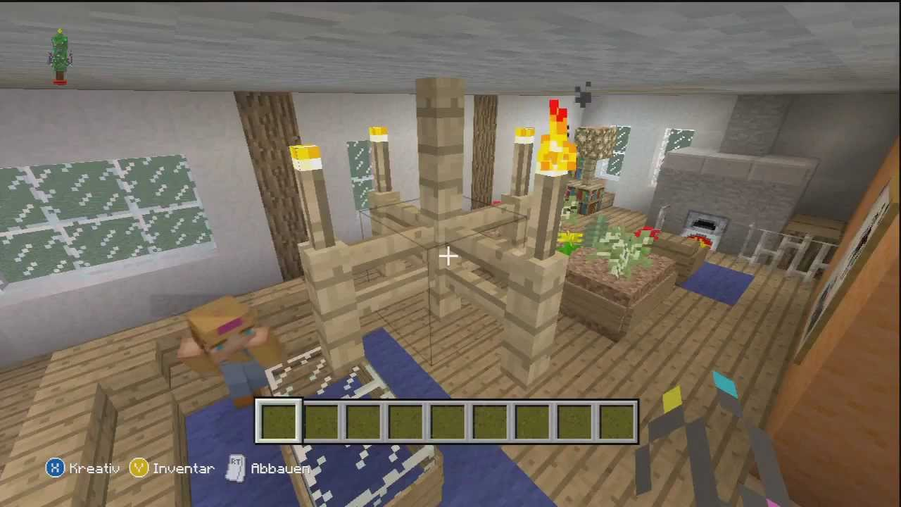 minecraft xbox 360 edition sch ner wohnen wohnzimmer. Black Bedroom Furniture Sets. Home Design Ideas