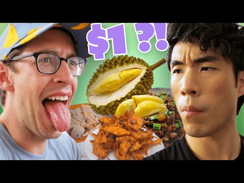 The Try Guys Eat EVERY Singapore Street Food