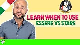 Learn Italian Phrases, Grammar and Culture Q&A - When to Use ESSERE vs STARE [Ask Manu Italiano]