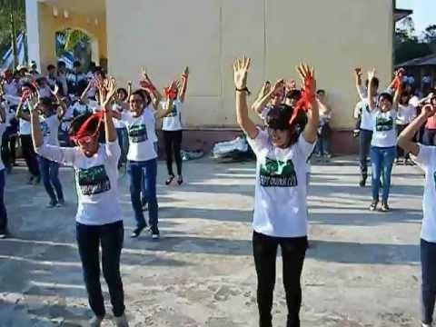 Fflash mob cựu học sinh THPT Quỳnh Côi past 1