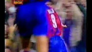 Ronaldo Every Goal For Barcelona (part 1)