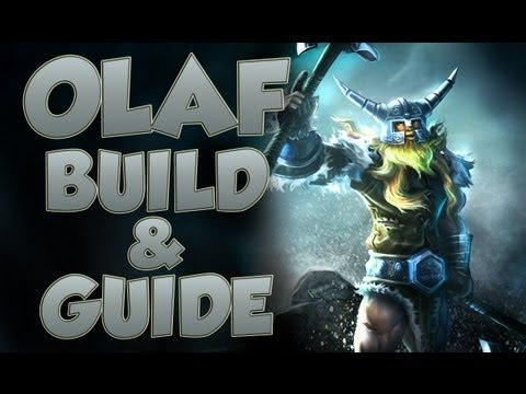 League of Legends - Olaf Build - with Commentary - LoL Video
