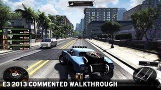 The Crew E3 2013 Commented Walkthrough [UK]