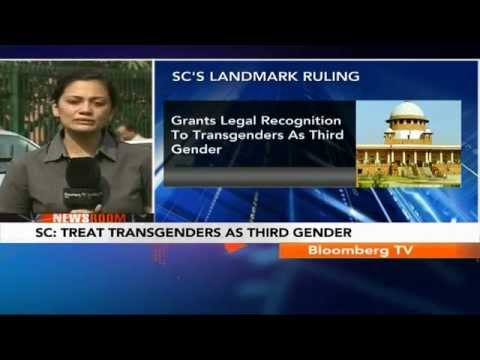 Newsroom- Treat Transgenders As Third Gender: SC